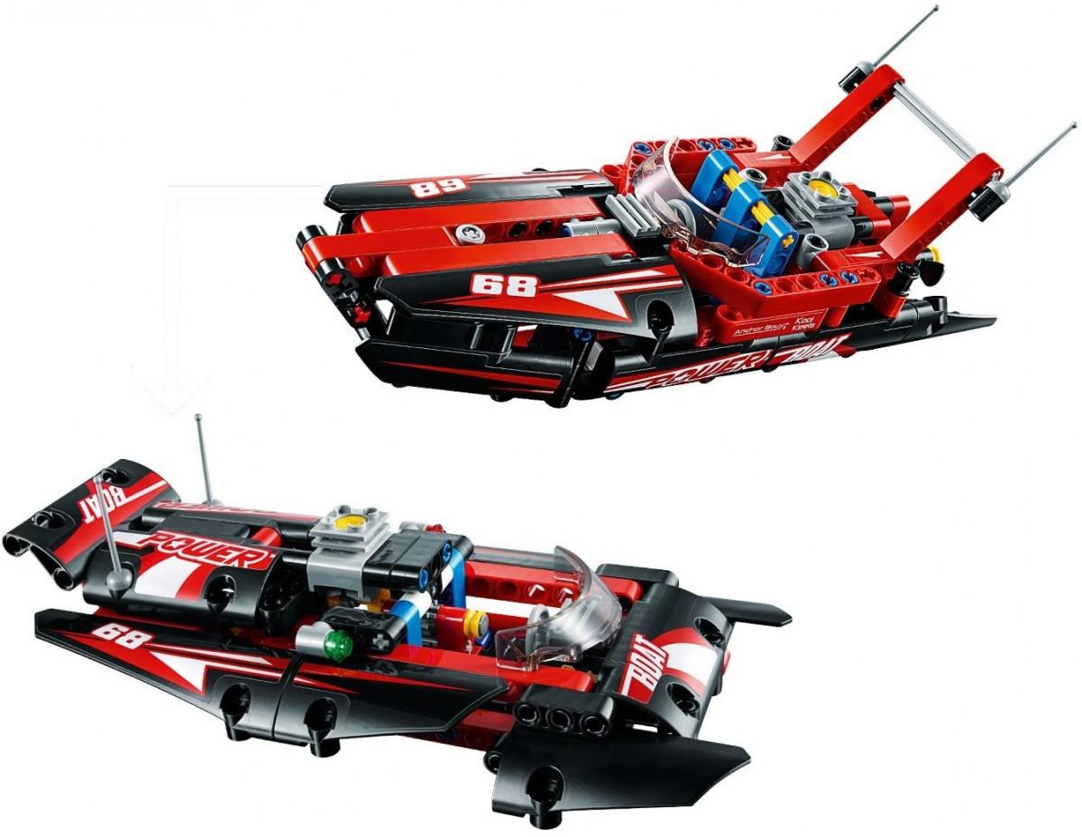 Klocki LEGO 42089 Technic Motorówka (40331)