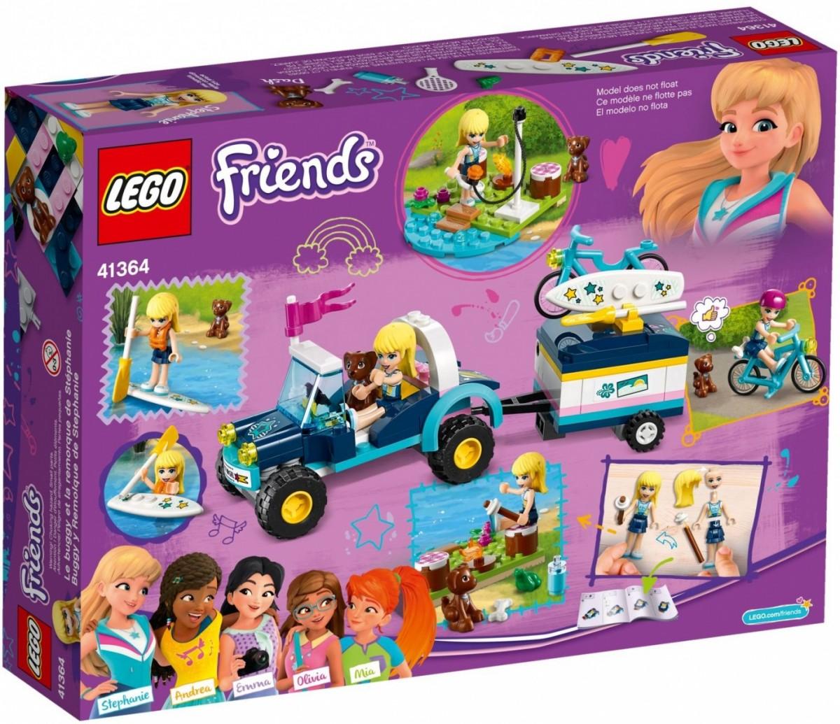 LEGO 41364 Friends Łazik z przyczepką Stephanie (40339)