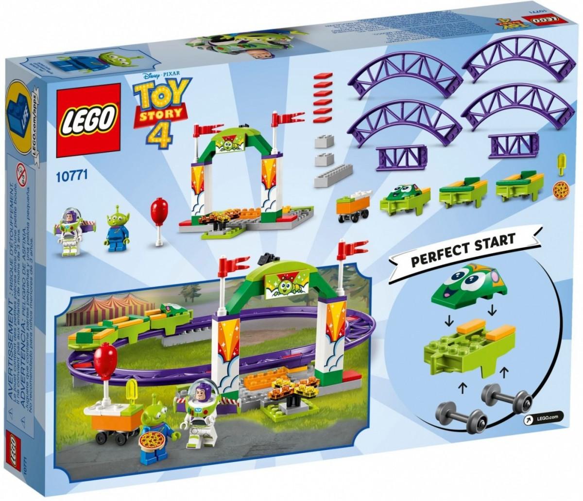 LEGO 10771 Juniors Toy Story 4 Karnawałowa kolejka (42526)